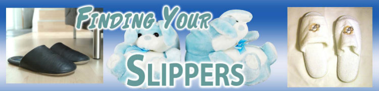 Slippers, mens slippers, animal slippers, slippers online, discount slippers, novelty slippers, womens slippers, slippers directory, reviews, slippers buyers guide.